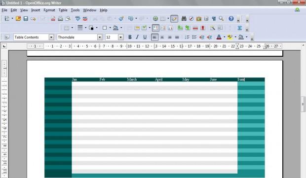 OpenOffice spreadsheets5