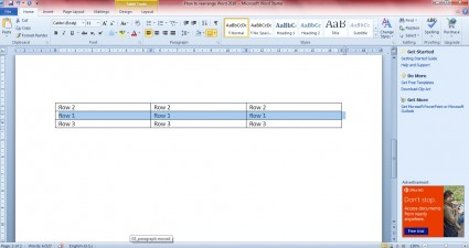 reposition table rows 2