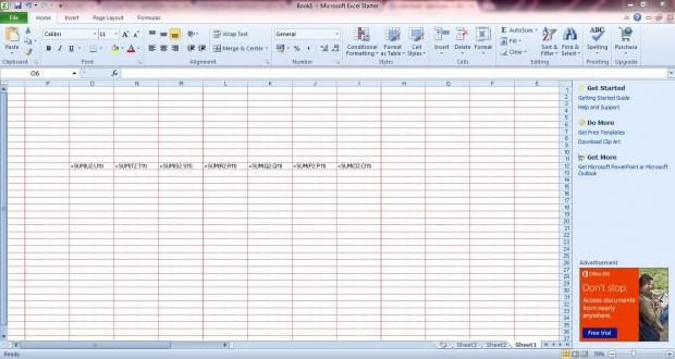 Excel display options5