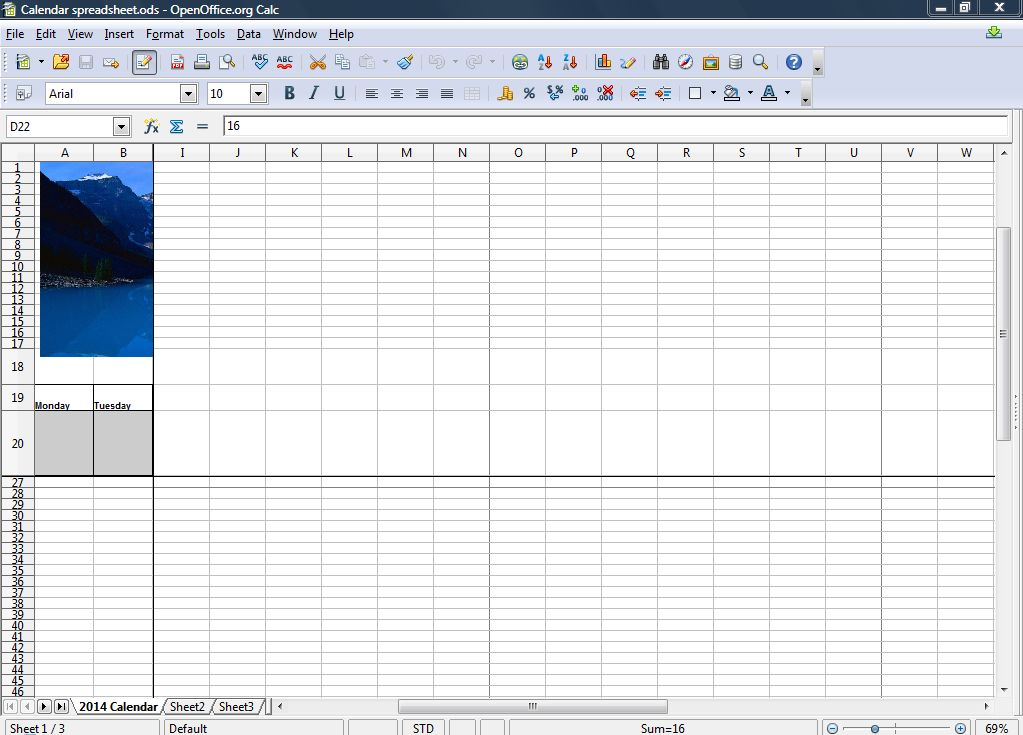 all the rows above and columns to the left of those lines remain in view as you scroll across the spreadsheet
