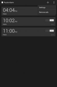 Puzzle Alarm Clock for Android