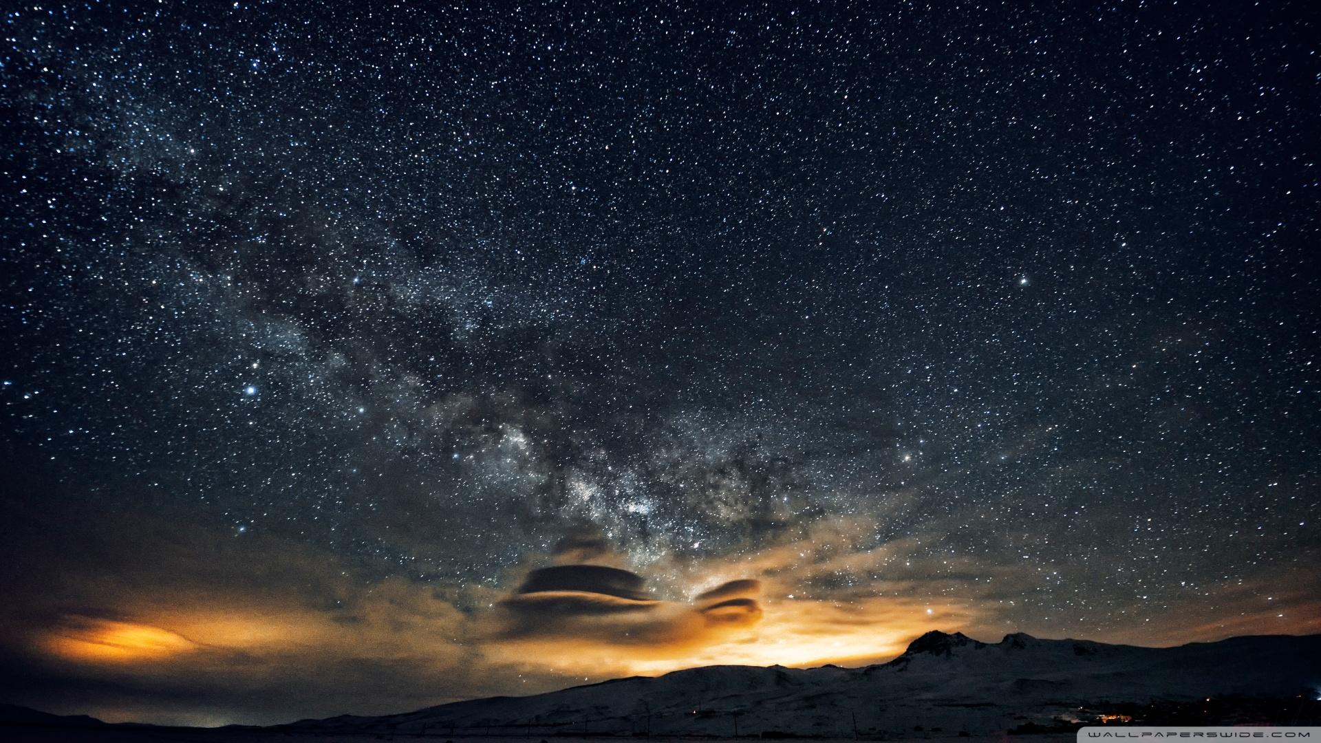Beautiful night sky in Armenia [Wallpaper] | dotTech