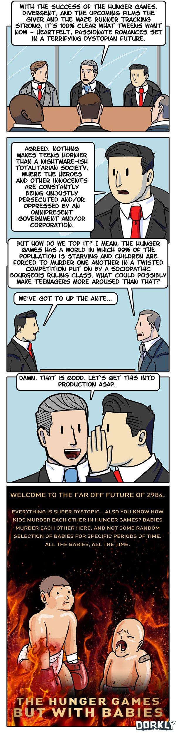 teens love dystopia