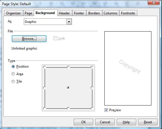 How to add watermarks to OpenOffice text documents [Guide