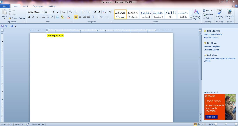 Useful microsoft word 2010 and 2013 hotkeys keyboard shortcuts word 1 buycottarizona Choice Image