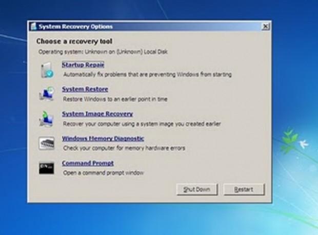 System-repair-disk