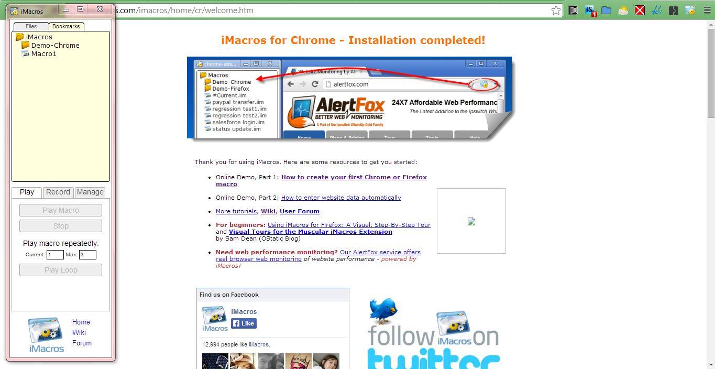 Add On Imacros For Chrome