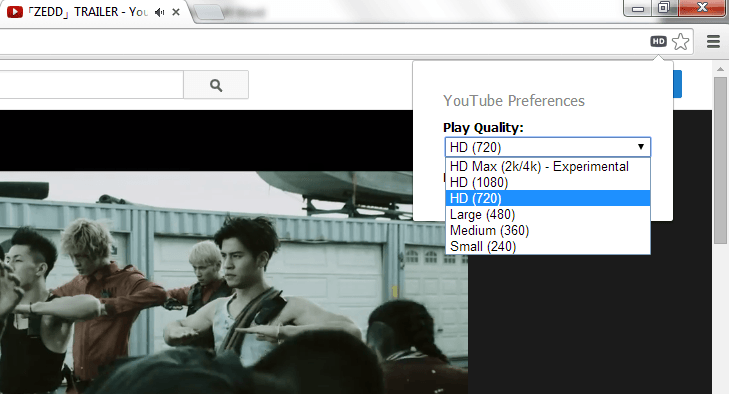 Auto Play YouTube in HD 2