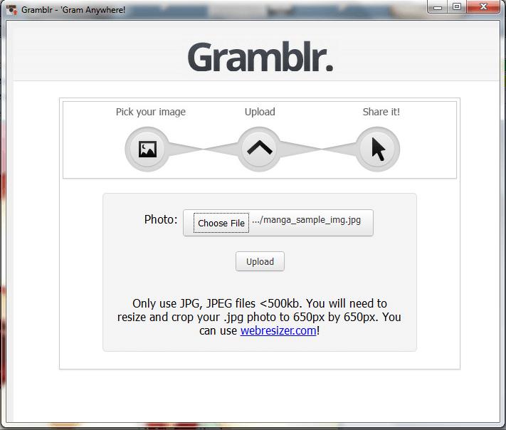 Gramblr setup4