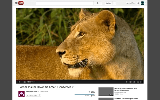 Chrome] Improve the way you watch videos on YouTube with