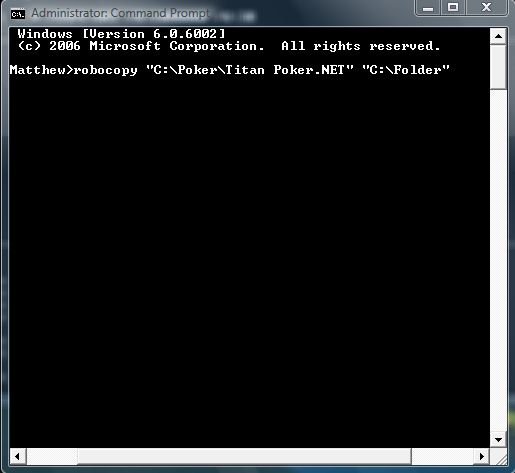 how to create a folder in command prompt