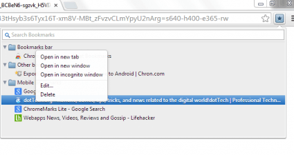 Neat Bookmarks Chrome