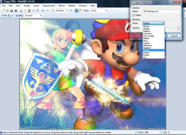 Paint.NET 3.55