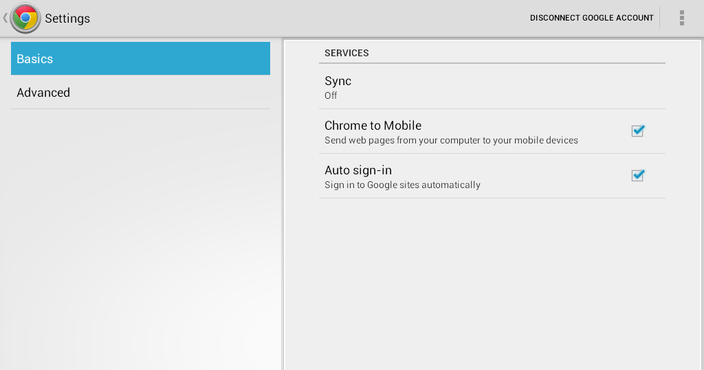 Sync Bookmarks Chrome b