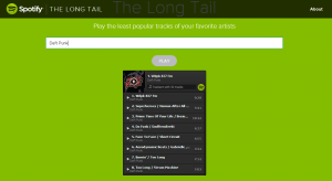 The Long Tail Free Spotify App