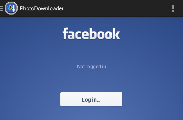 download all fb photos at once