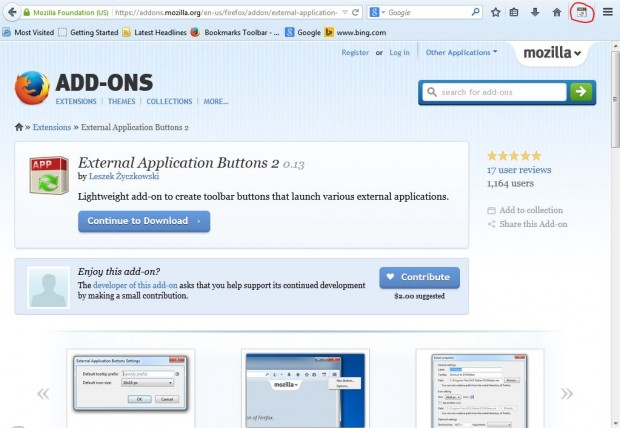 External Application Buttons3