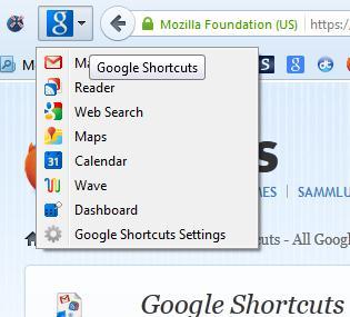 Google shortcuts4