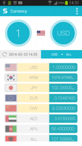 Just Currency for Android
