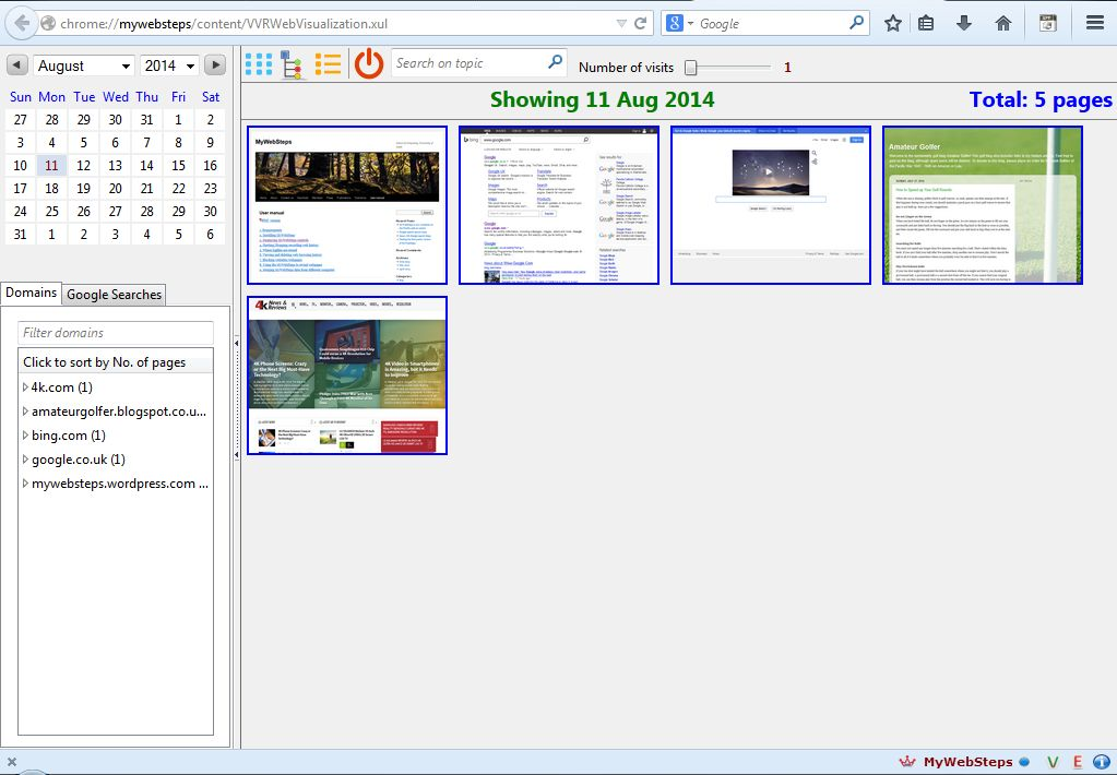 how to add thumbnail firefox