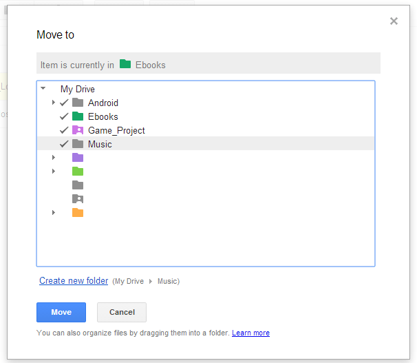 Place one file to multiple folders c