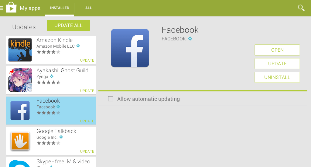 Restore Facebook Chat on Android