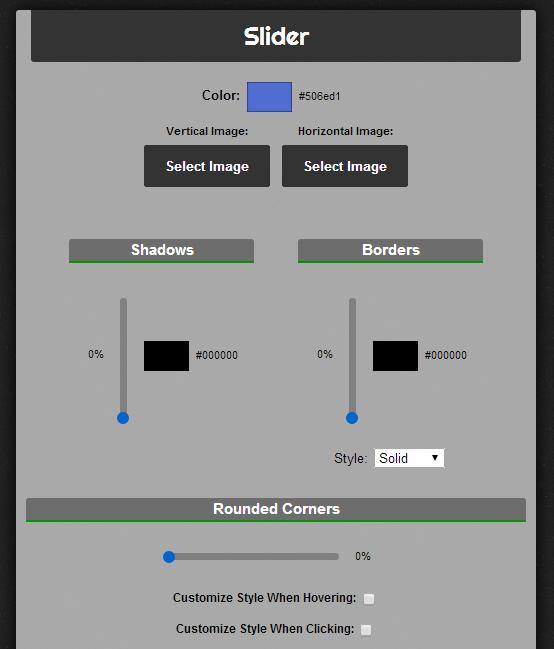 change scrollbar slider color Chrome