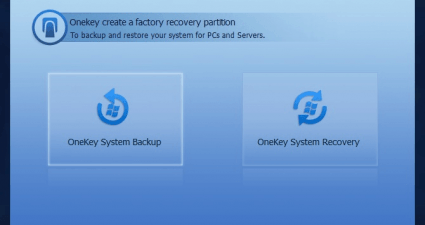 Create a factory recovery partition in Windows