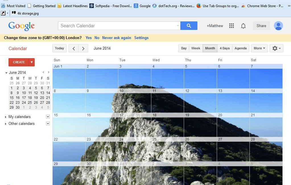 how to add a background image to google calendar tip dottech