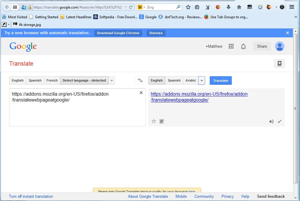 How to translate a web page from Firefox right-click menu [Tip] | dotTech