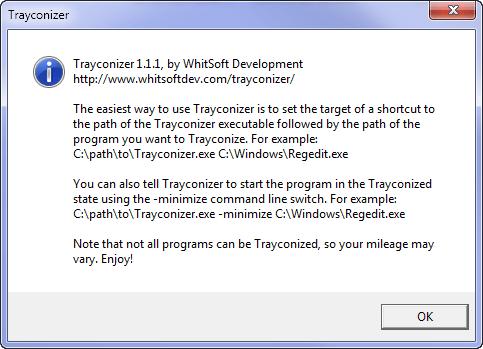 Trayconizer
