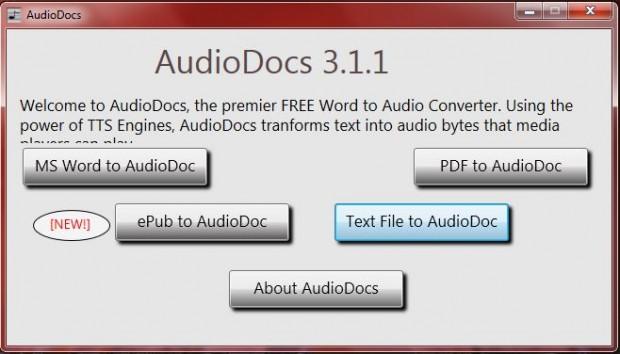 audioXdocs