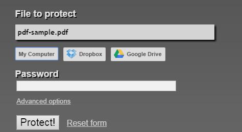 passwordXprotectXPDF