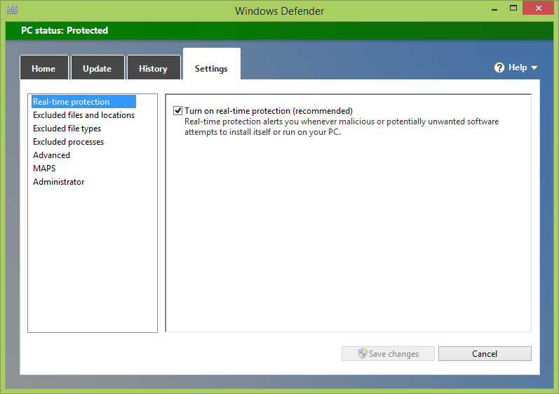 How to use Windows Defender in Windows 8 and 10 [Tip