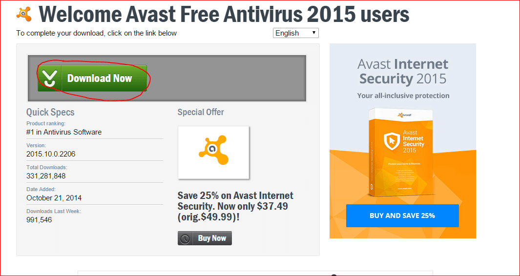 free download avast antivirus for pc 2015 full version with key