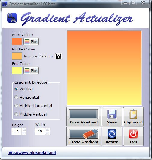 Gradient Actualizer2