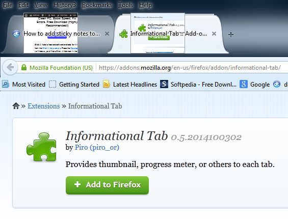 Informational Tabs4