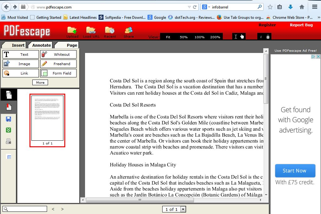 How to add text, images and notes to PDF documents online [Tip ...