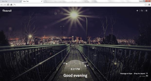 Pinterest Tab Chrome b