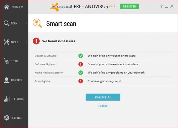 SmartScanResult
