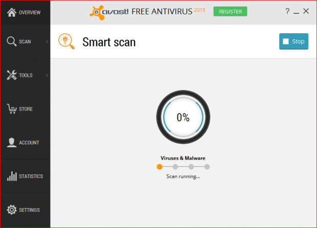 SmartScanRunning
