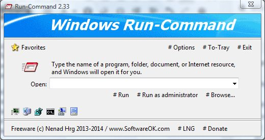 Windows Run-Command