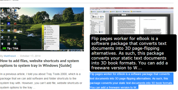 Zoom text in any web page in Chrome