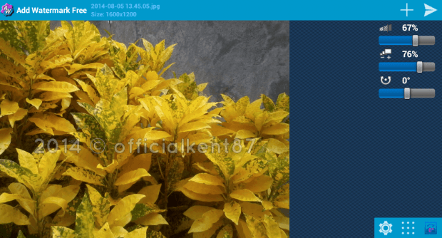 add watermark to image android b