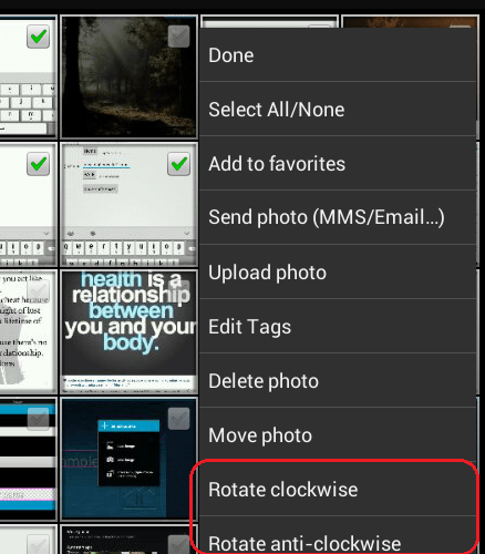 batch rotate photos android d