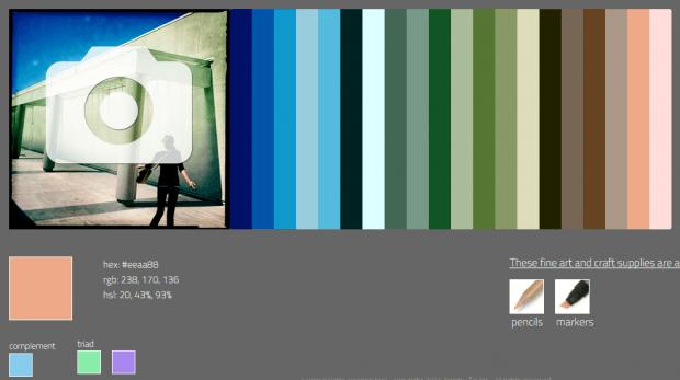 create color palette online b