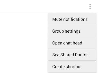 mute notifications facebook chat b