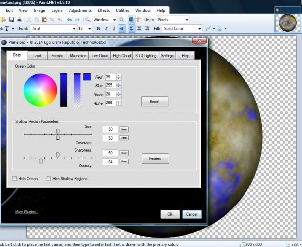 Paint Net Effects Subfolder
