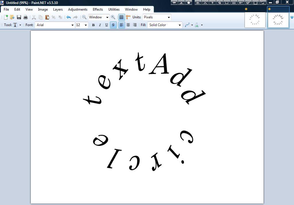 Paint Net Edit Text Box