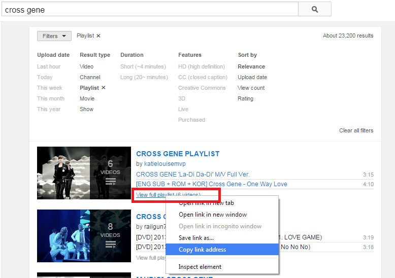 How to copy YouTube playlists from one account to another [Tip